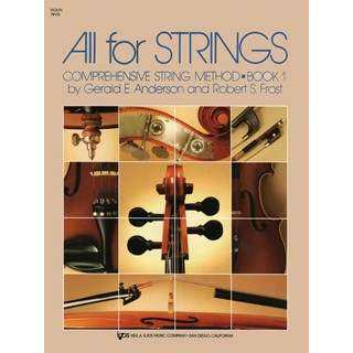 All For Strings Violin Method Book