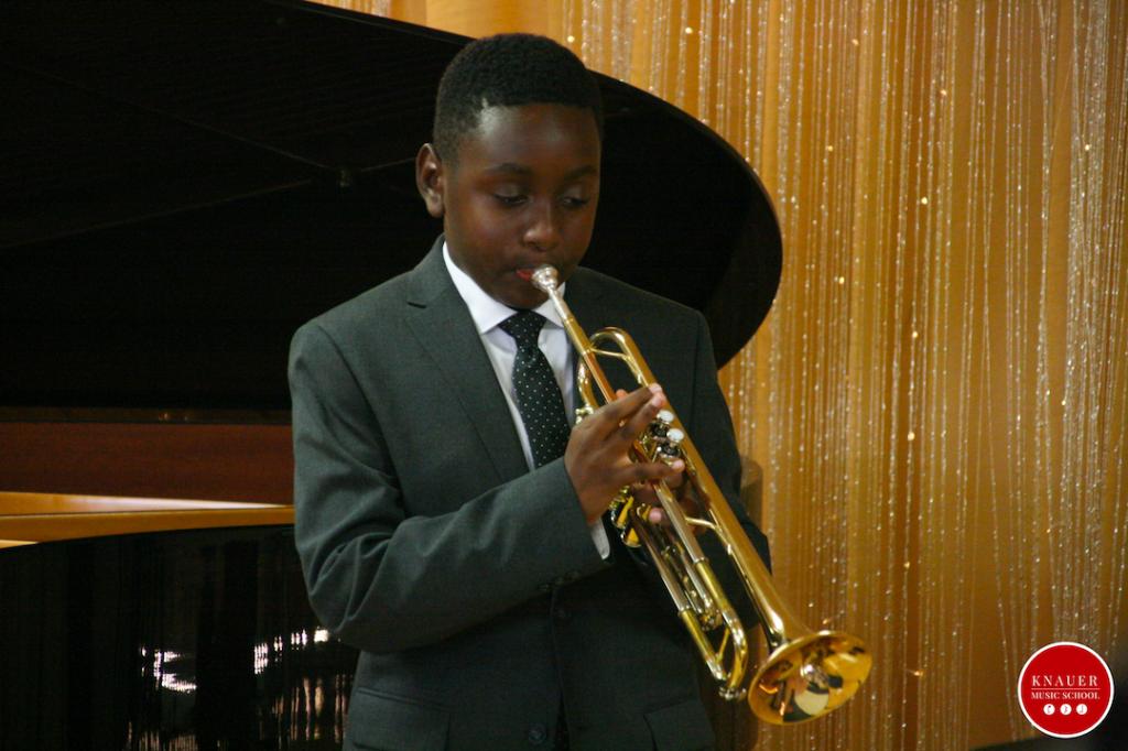Trumpet Student Knauer Music School