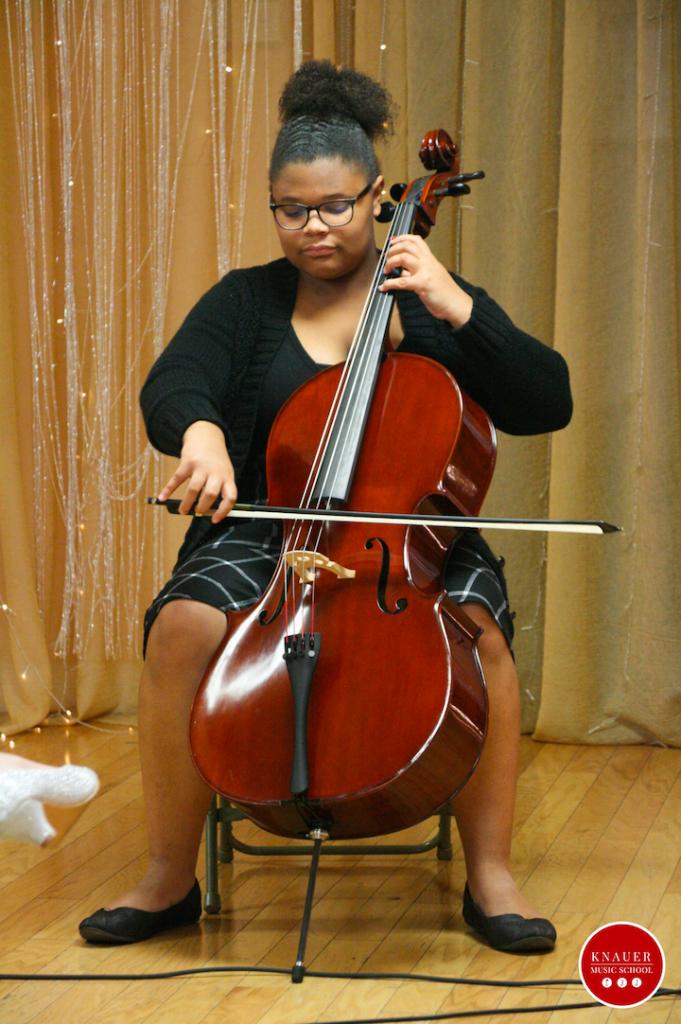 Cello Student Knauer Music School