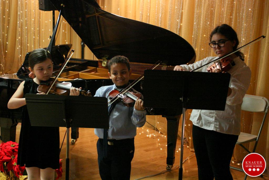 Knauer Music School String Ensemble